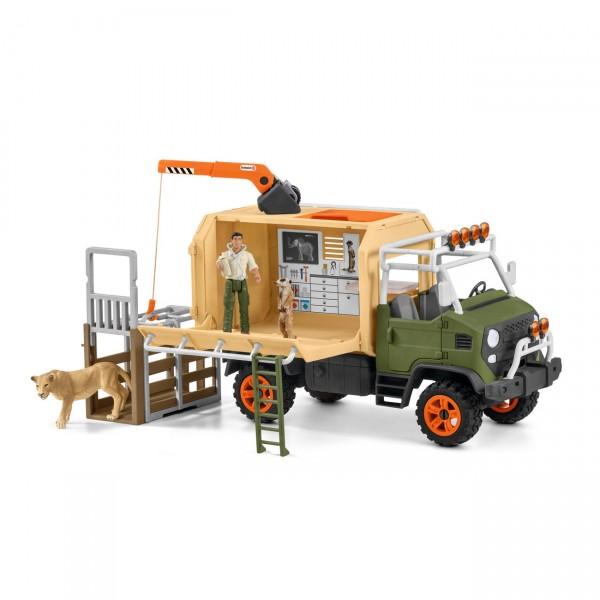 Grosser Truck Tierrettung - Schleich 42475 Wild Life