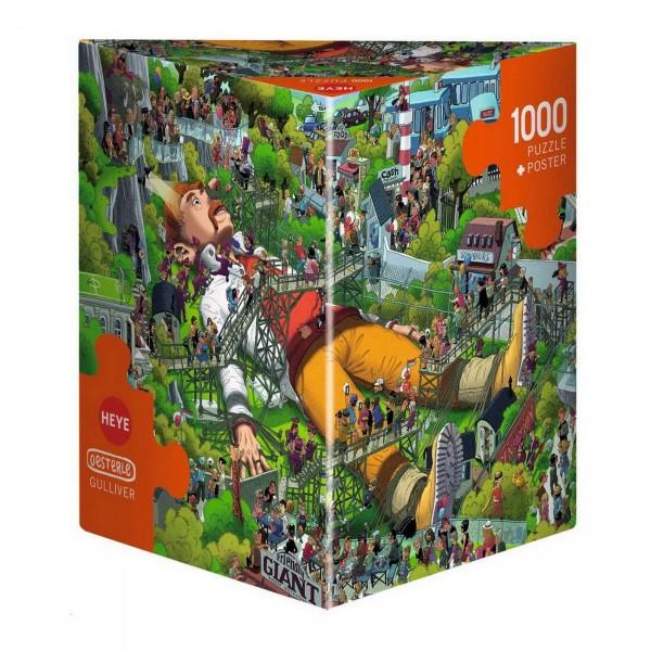 HEYE Puzzle - Gulliver Triangular 1000 Teile