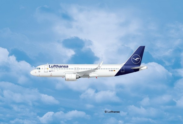 Revell 03942 - Airbus A320 Neo Lufthansa New Livery - Flugzeug Modell