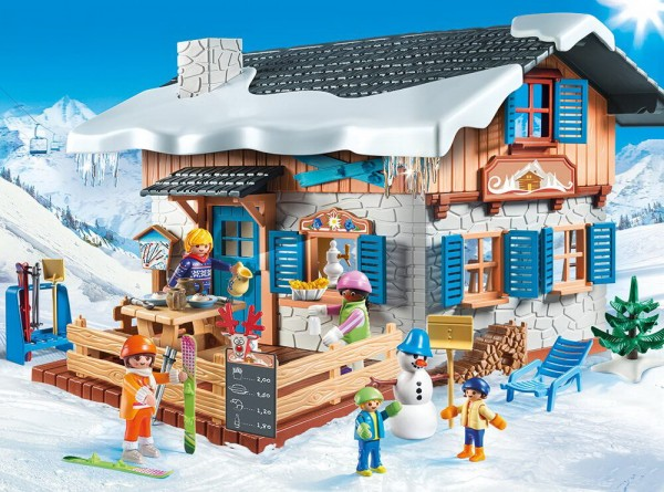 Playmobil 9280 - Skihütte (Family Fun)