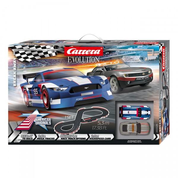 Carrera Evolution - Break Away (25236) Rennbahn