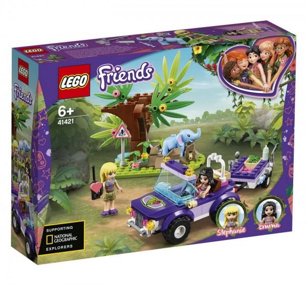 LEGO Friends 41421 - Rettung des Elefantenbabys mit Transporter