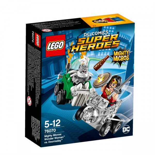 LEGO DC Universe Super Heroes 76070 - Mighty Micros: Wonder Woman vs. Doomsday