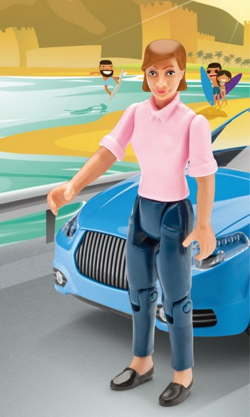 Revell Junior Kit - Frau - Figur (00757)