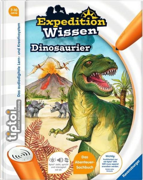 tiptoi Expedition Wissen - Dinosaurier (Abenteuer-Sachbuch)