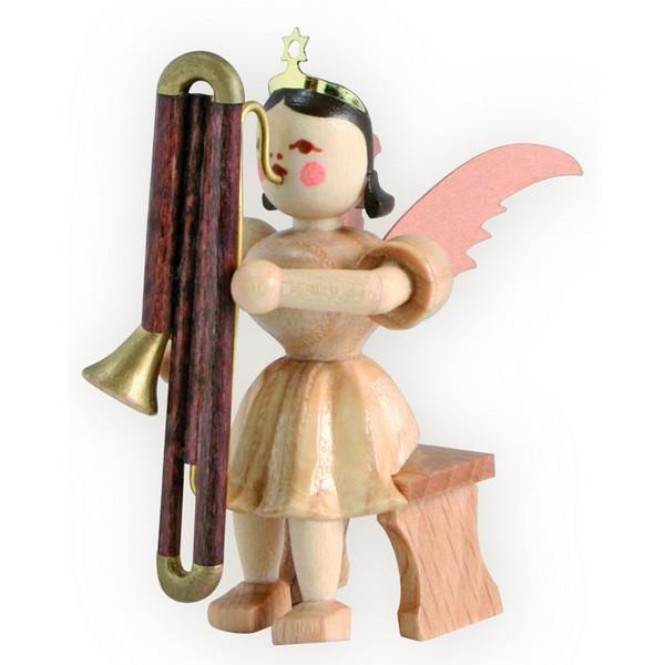 Blank Kurzrock-Engel mit Kontrafagott