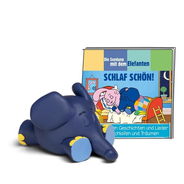Tonies - Die Sendung mit dem Elefanten - Schlaf schön - Hörbuch mit Liedern