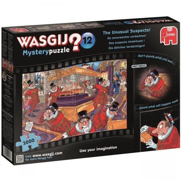 Wasgij Mystery 12 - Die üblichen Verdächtigen - Puzzle