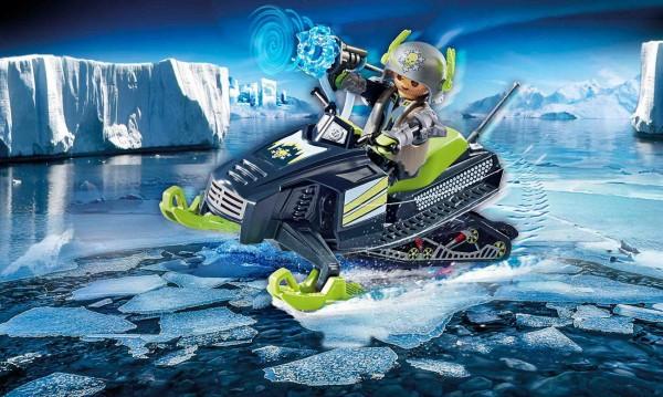 Playmobil 70235 - Arctic Rebels Eisscooter - Top Agents