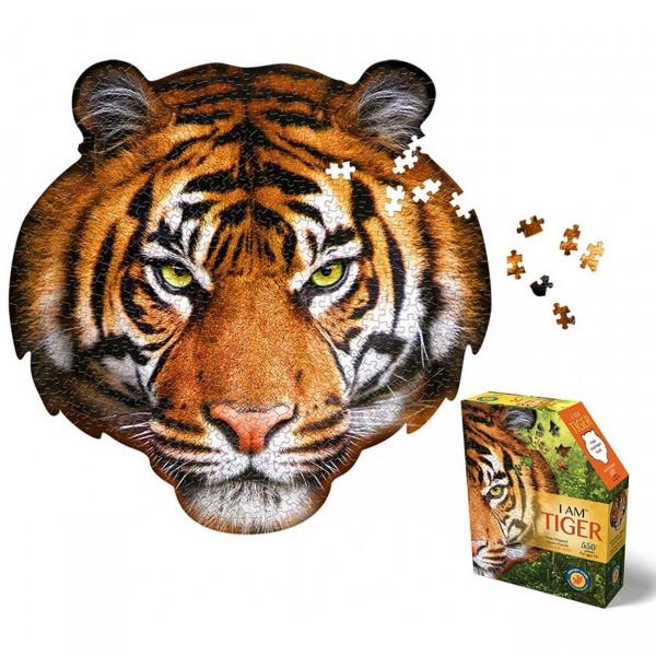 Konturen Puzzle Tiger (Madd Capp)