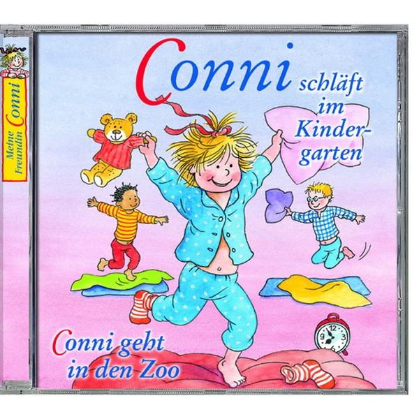 CD Conni schläft im Kindergarten/ Conni geht in den Zoo