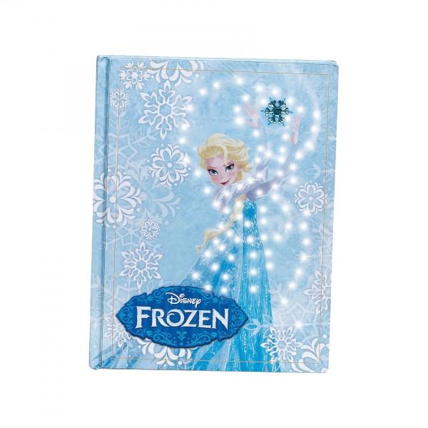 Frozen Elsa - Tagebuch mit Lichteffekt