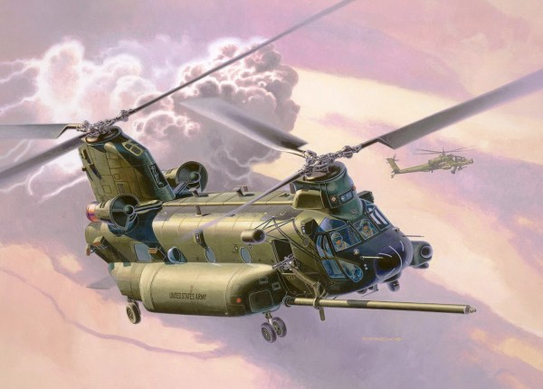 Revell 03876 - MH-47E Chinook - Helikopter Modell