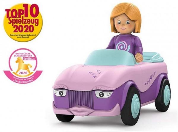 SIKU 0102 - Toddys - Betty Blinky - Auto rosa lila