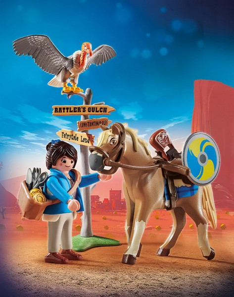 Playmobil 70072 - Marla mit Pferd (The Movie)