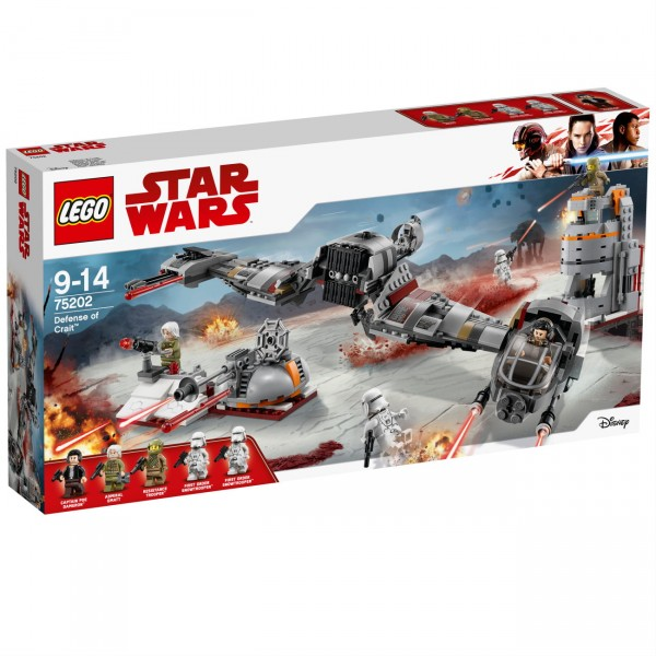LEGO Star Wars 75202 - Defense of Crait™