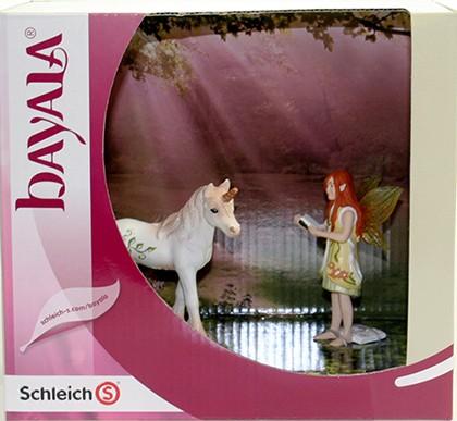 Scenery Pack Einhorn Fohlen mit Elfe - Schleich (41365) Bayala