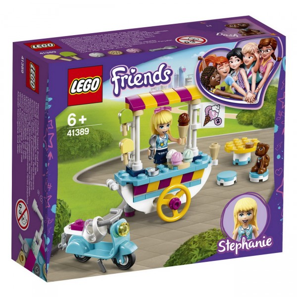 LEGO Friends - Stephanies mobiler Eiswagen (41389)