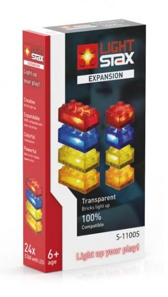 LIGHT STAX Expansion Zusatzsteine transparent rot orange gelb blau (S-11005)