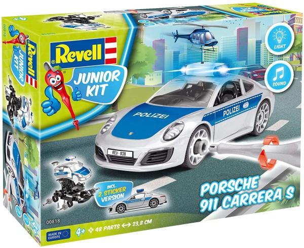 Revell Junior Kit - Porsche 911 Polizei (00818)