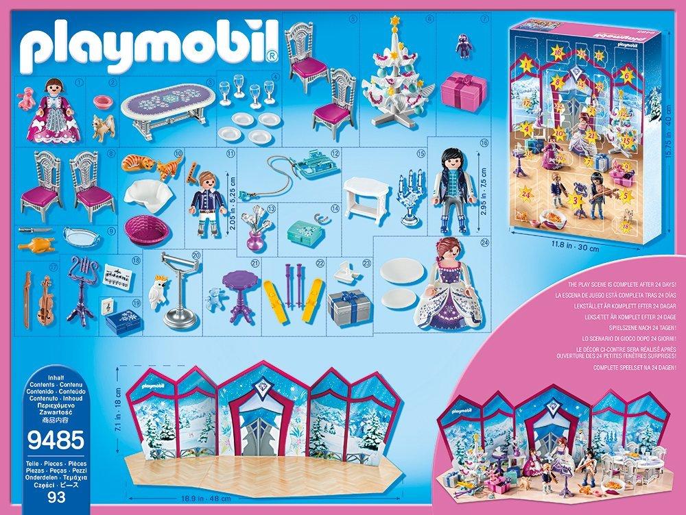 Playmobil Weihnachtsbaum.Playmobil 9485 Adventskalender Weihnachtsball Im Kristallsaal