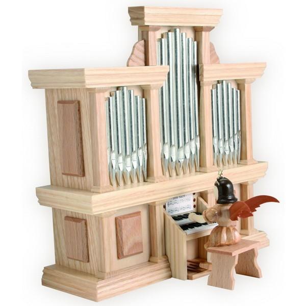 Blank Kurzrock-Engel an der Orgel mit Spielwerk