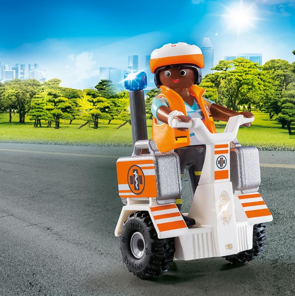 Playmobil 70052 - Rettungs-Balance-Roller (City Life)
