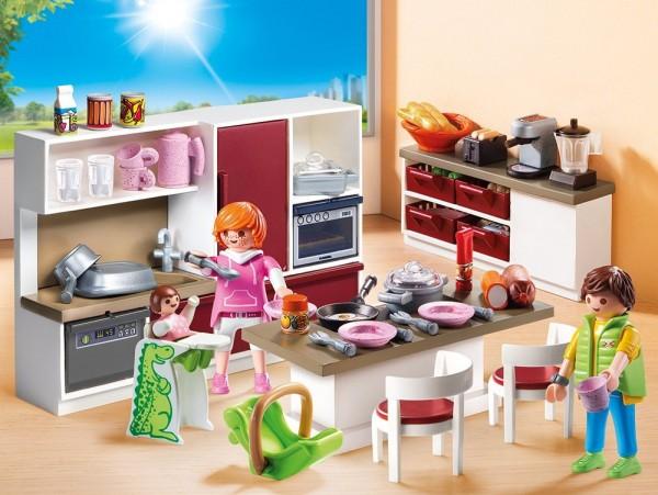Playmobil 9269 - Große Familienküche (City Life)