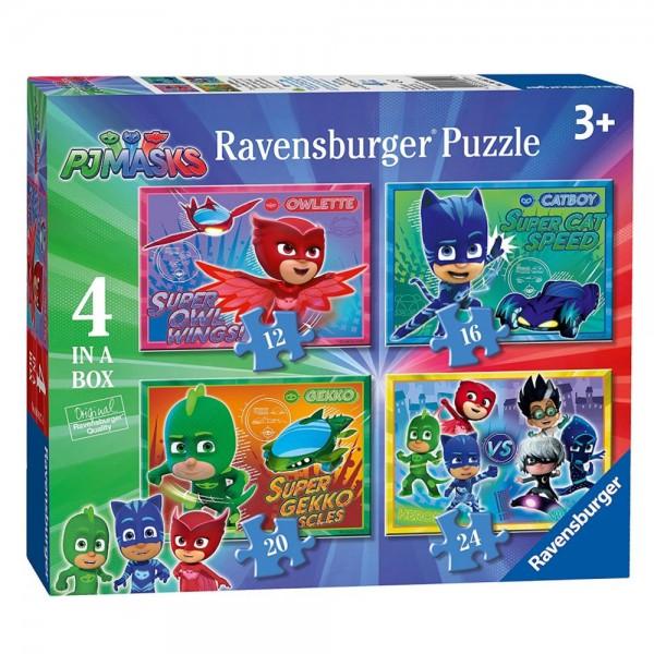 PJ Masks 4in1 Puzzlebox (Ravensburger)