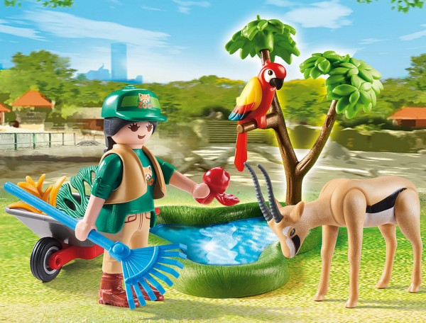 Playmobil 70295 - Geschenkset Zoo - Family Fun