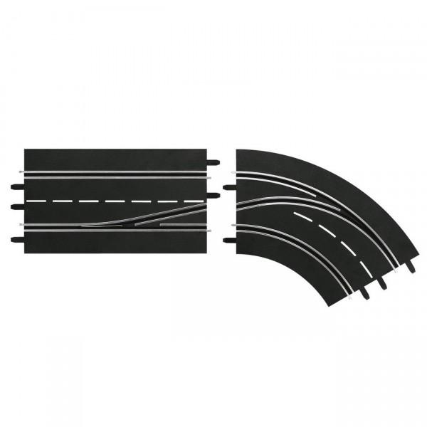 Carrera Digital Spurwechselkurve rechts - innen nach außen (20030364)