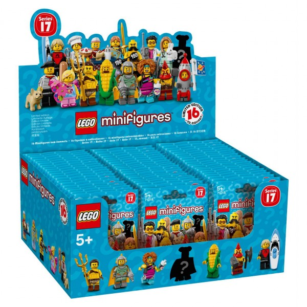 LEGO Minifigures 71018 - 60er Display Serie 17