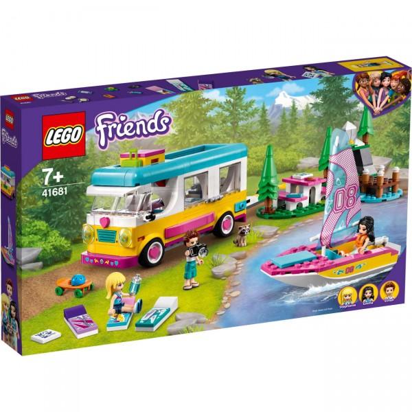 LEGO Friends 41681 - Wohnmobil- und Segelbootausflug