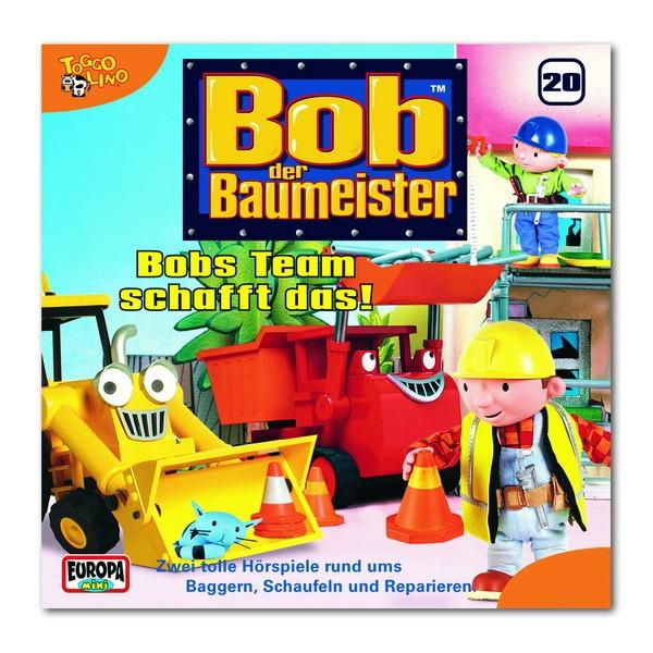 CD Bob der Baumeister: Bobs Team schafft das! (20)