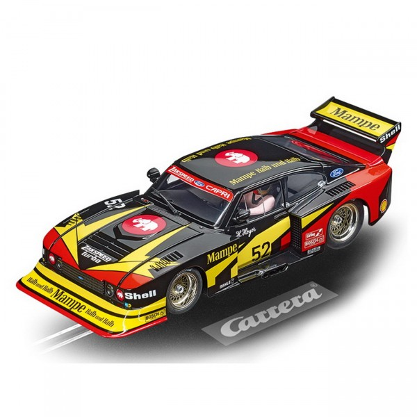 Carrera digital 124 - Ford Capri Zakspeed Turbo Mampe-Ford-Zakspeed-Team No.52 (23895)