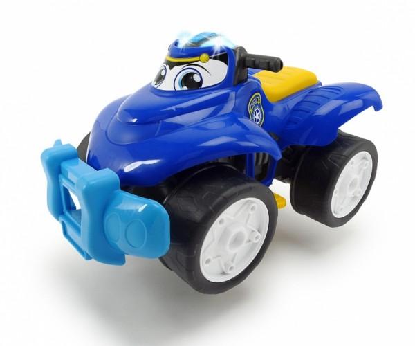 Happy Rescue - Einsatzquad Polizei blau (Dickie Toys)