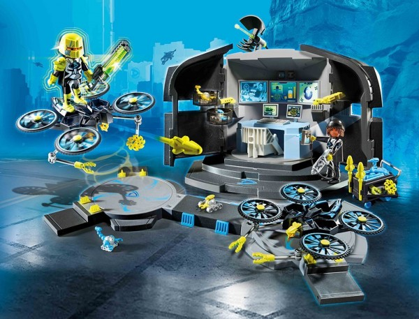 Playmobil 9250 - Dr. Drone's Command Center (Top Agents)