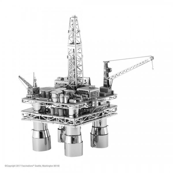 Metal Earth - Bohrinsel Offshore Oil Rig & Tanker (#MMG105)