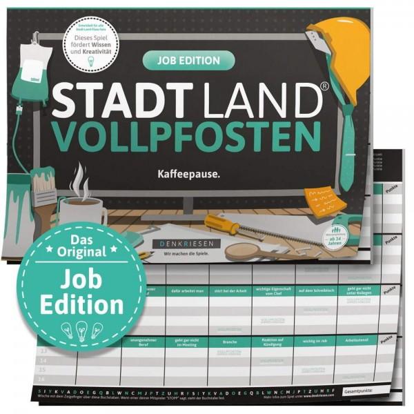 STADT LAND VOLLPFOSTEN - Job Edition Kaffeepause - A4 (DENKRIESEN)