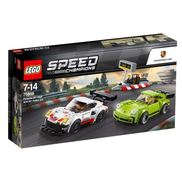 LEGO Speed Champions 75888 - Porsche 911 RSR und 911 Turbo 3.0