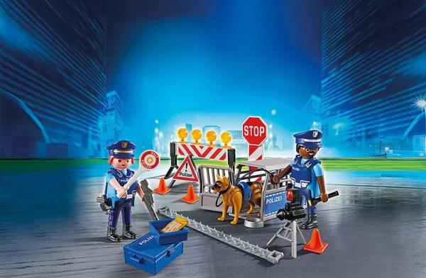 Playmobil 6878 - Polizei-Straßensperre