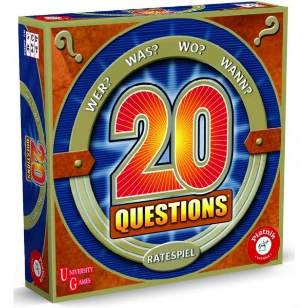 20 Questions Ratespiel (Piatnik 6613)