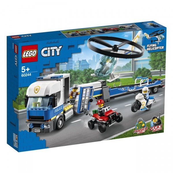 LEGO City - Polizeihubschrauber-Transport (60244)