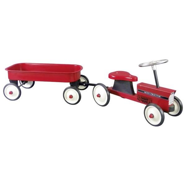 Rutscherfahrzeug Traktor mit Anhänger
