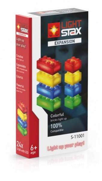 LIGHT STAX Expansion Zusatzsteine rot gelb blau grün (S-11001)