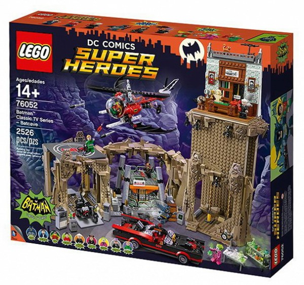 LEGO Super Heroes DC - Batman: Bathöhle 76052