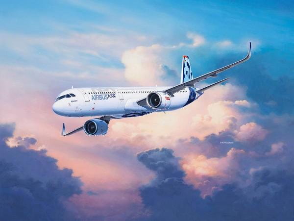 Revell 04952 - Airbus A321 neo - Passagierflugzeug Modell