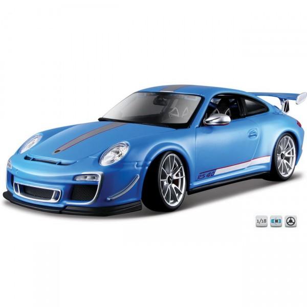 Bburago Porsche 911 GT3 RS 4.0 (18-11036BL) blau