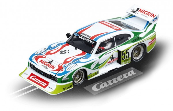 Carrera digital 132 - Ford Capri Zakspeed Turbo Liqui Moly Equipe No 55 (30817)