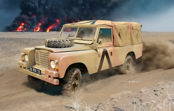 Revell 03246 - Britisches 4x4 Off-Road Vehicle - Series III (109/LWB)